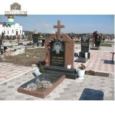 Памятник комбинированный 05 — ritualum.ru